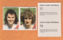 Crystal Palace Gerry Francis England Billy Gilbert